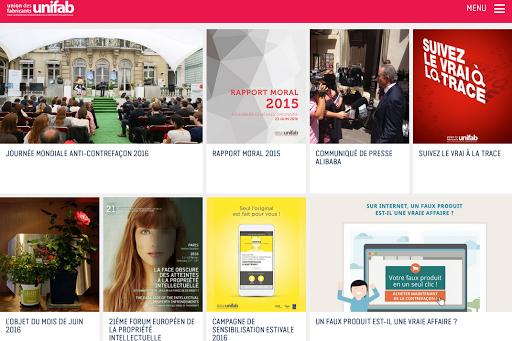 Lancement du nouveau site de l'Unifab